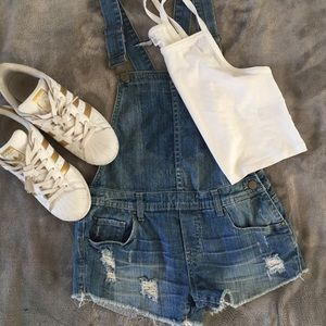 💎 blankNyc overall shorts 💎
